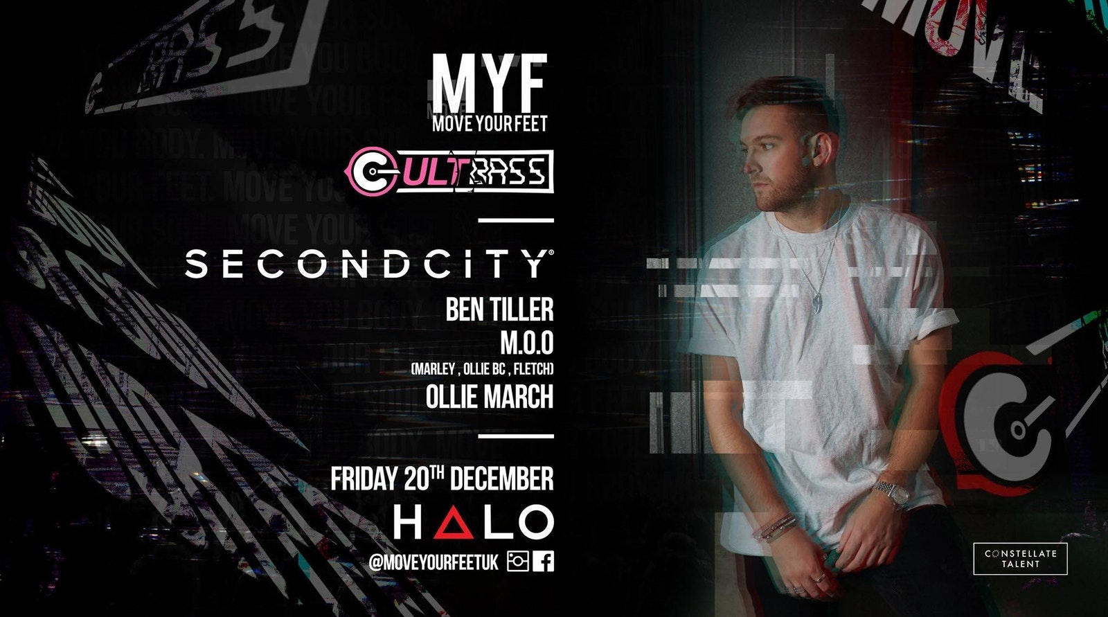 MYF & Cultbass present Second City