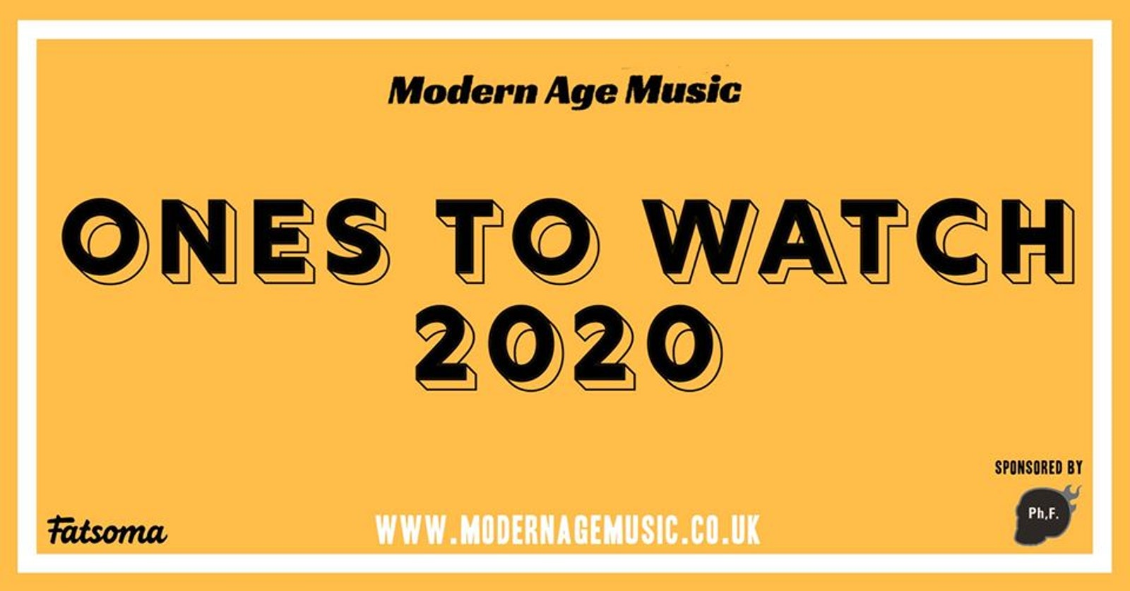 Modern Age Music 'Ones To Watch' 2020 – Manchester