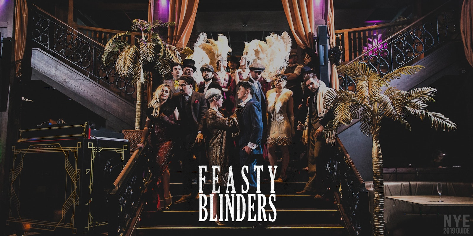 Feasty Blinders – The New Years Eve Ball | An Immersive Peaky Blinders Event
