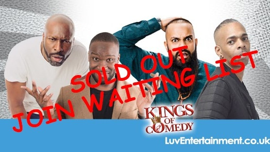 COBO : Kings Of Comedy ** SOLD OUT – PLEASE PURCHASE TICKETS FOR SHOW 2 BELOW **