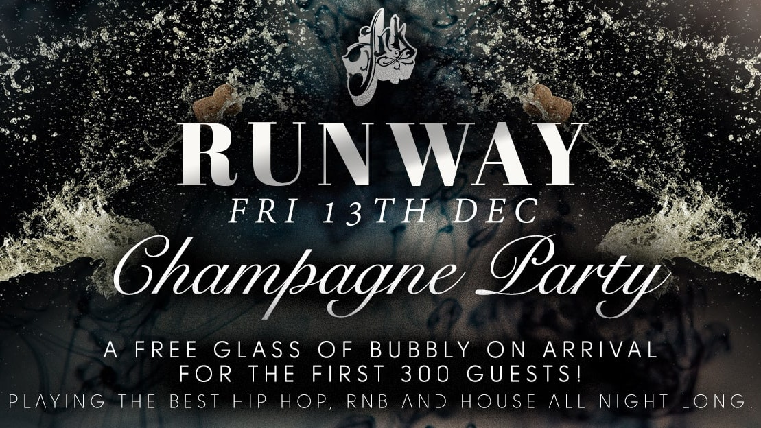 Runway Fridays – Champagne Party