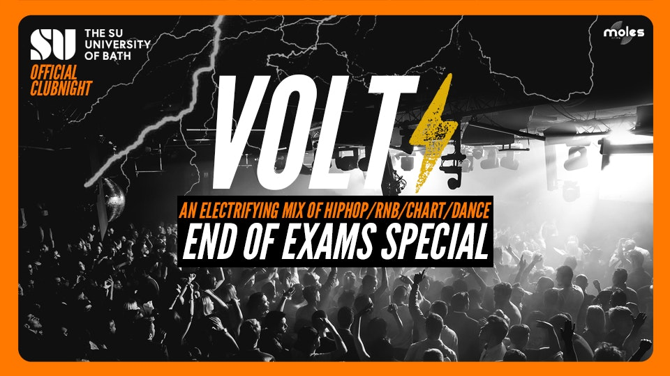 VOLT – Hip Hop, R'n'B, Chart & Dance! ! End Of Exams Special!
