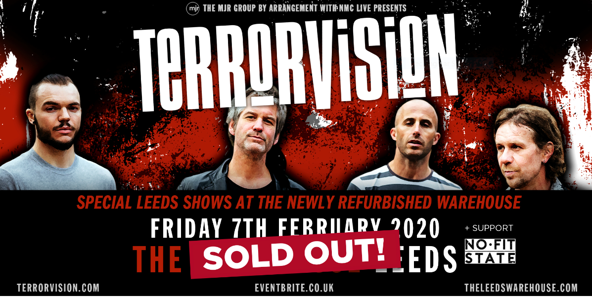 Terrorvision – Live (Extra date added!) (Sold out!)