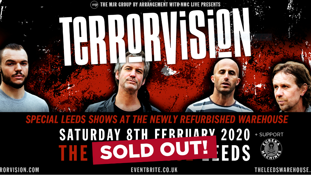 Terrorvision – Live (Sold out!)