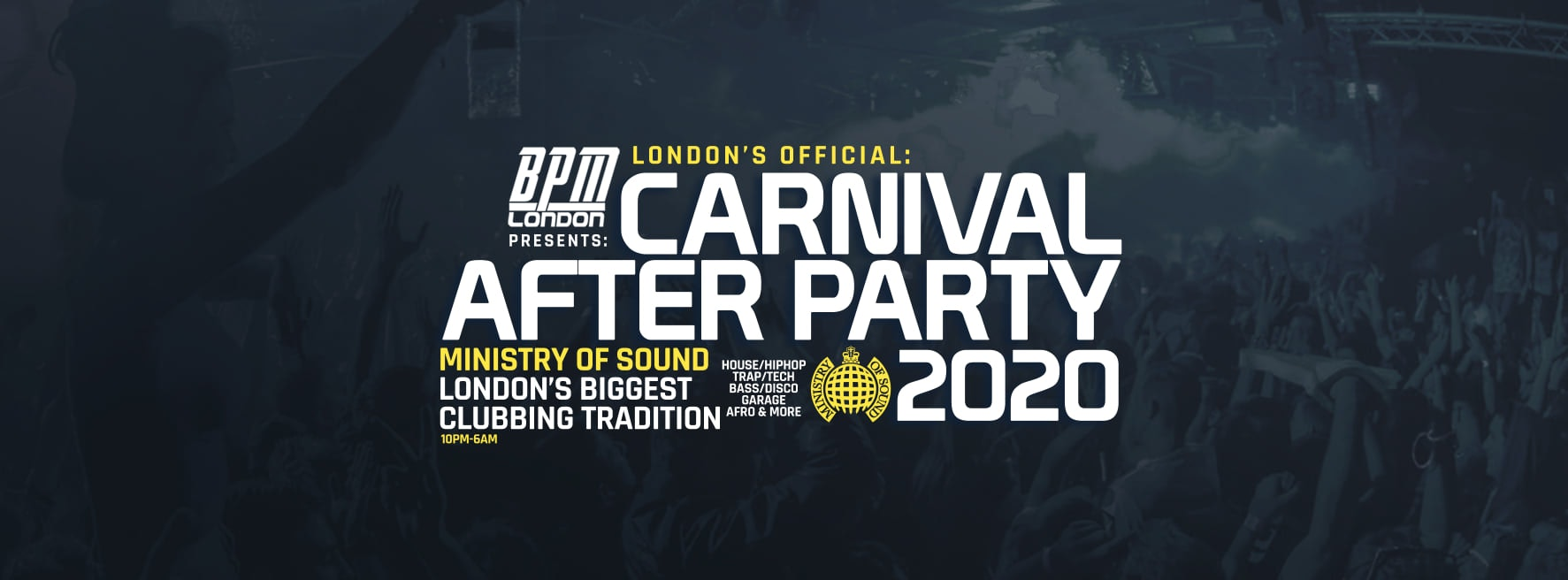 The Official Carnival After Party at Ministry of Sound