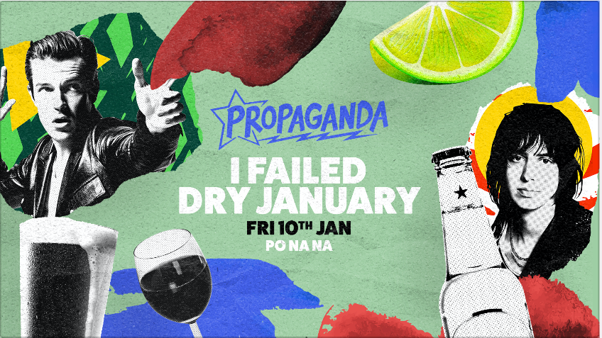Propaganda Bath – I Failed Dry January