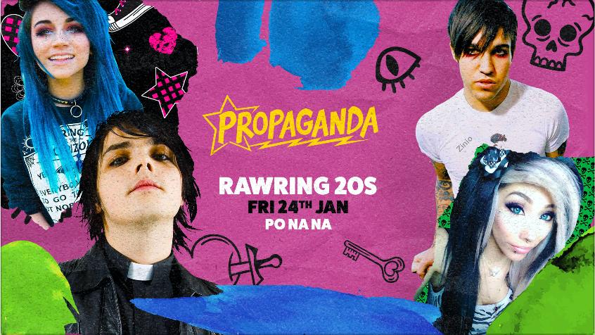 Propaganda Bath – Rawring 20s