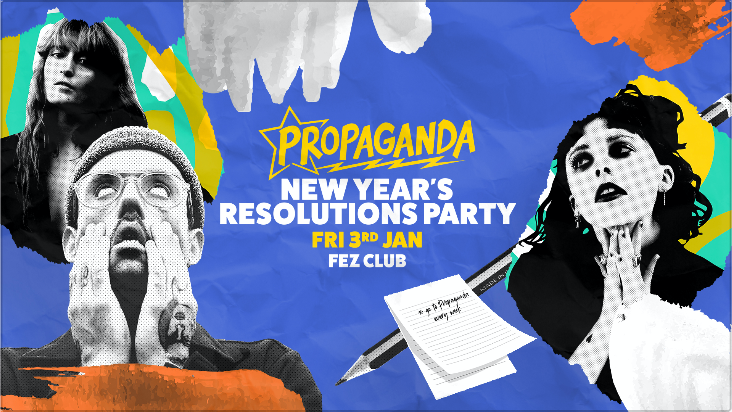 Propaganda Cambridge – New Year's Resolutions Party