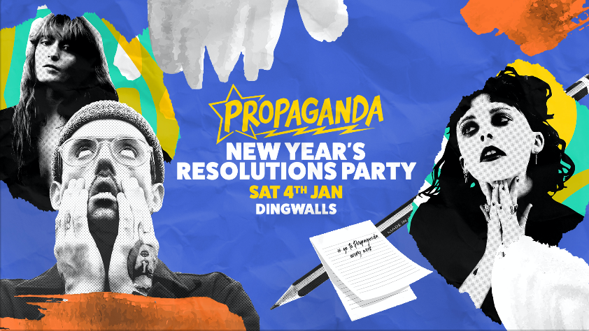 Propaganda London – New Year's Resolutions Party