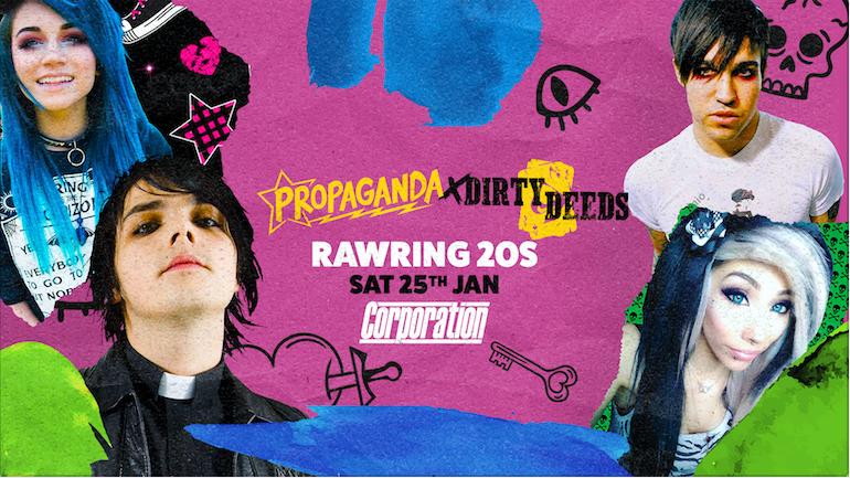Propaganda Sheffield & Dirty Deeds – Rawring 20s