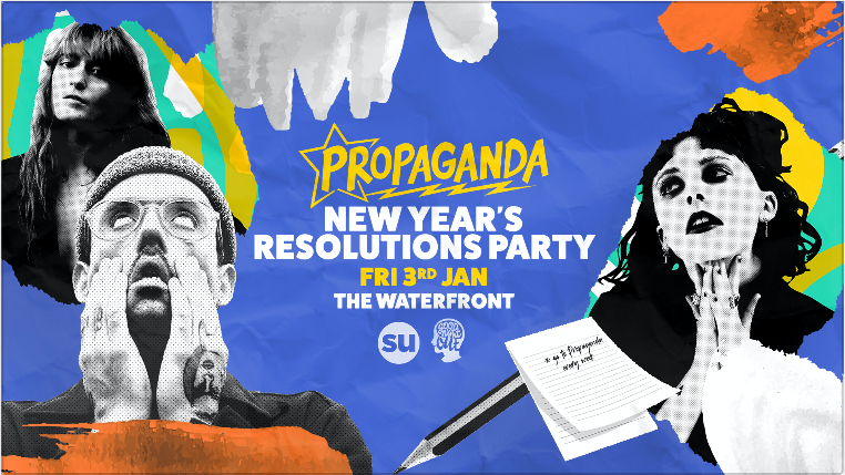 Propaganda Norwich – New Year's Resolutions Party