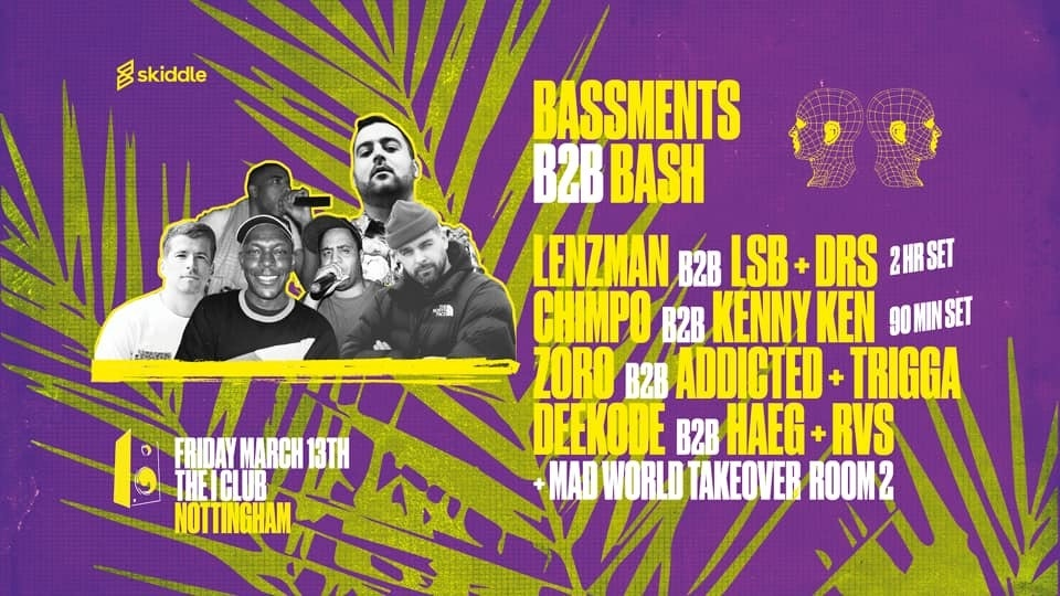 Bassments B2B Bash