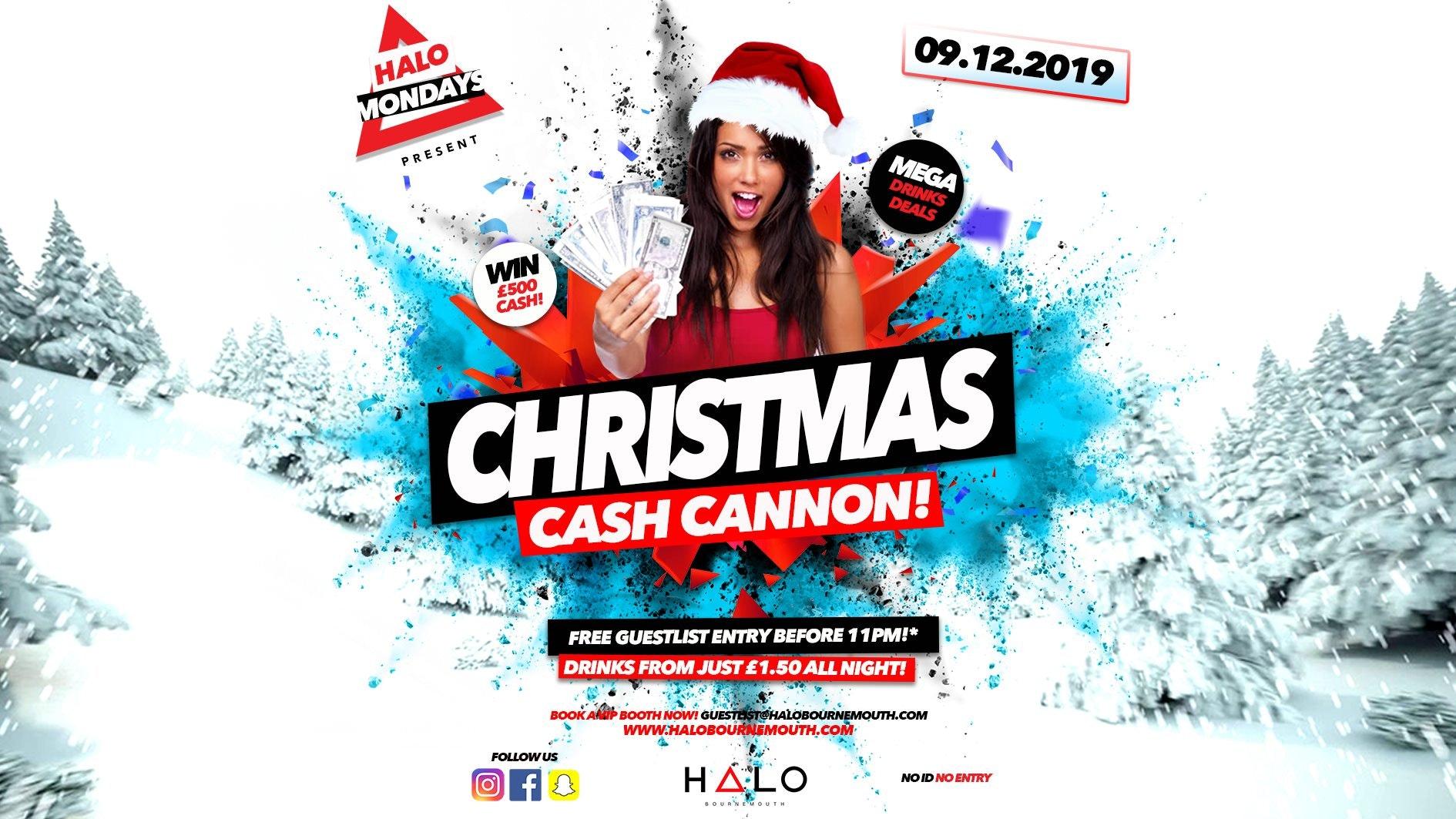 Halo Mondays: Christmas Cash Cannon