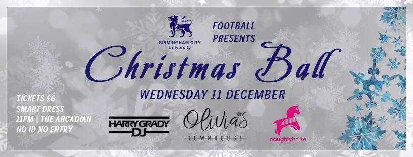 BCU Christmas Ball – Olivias