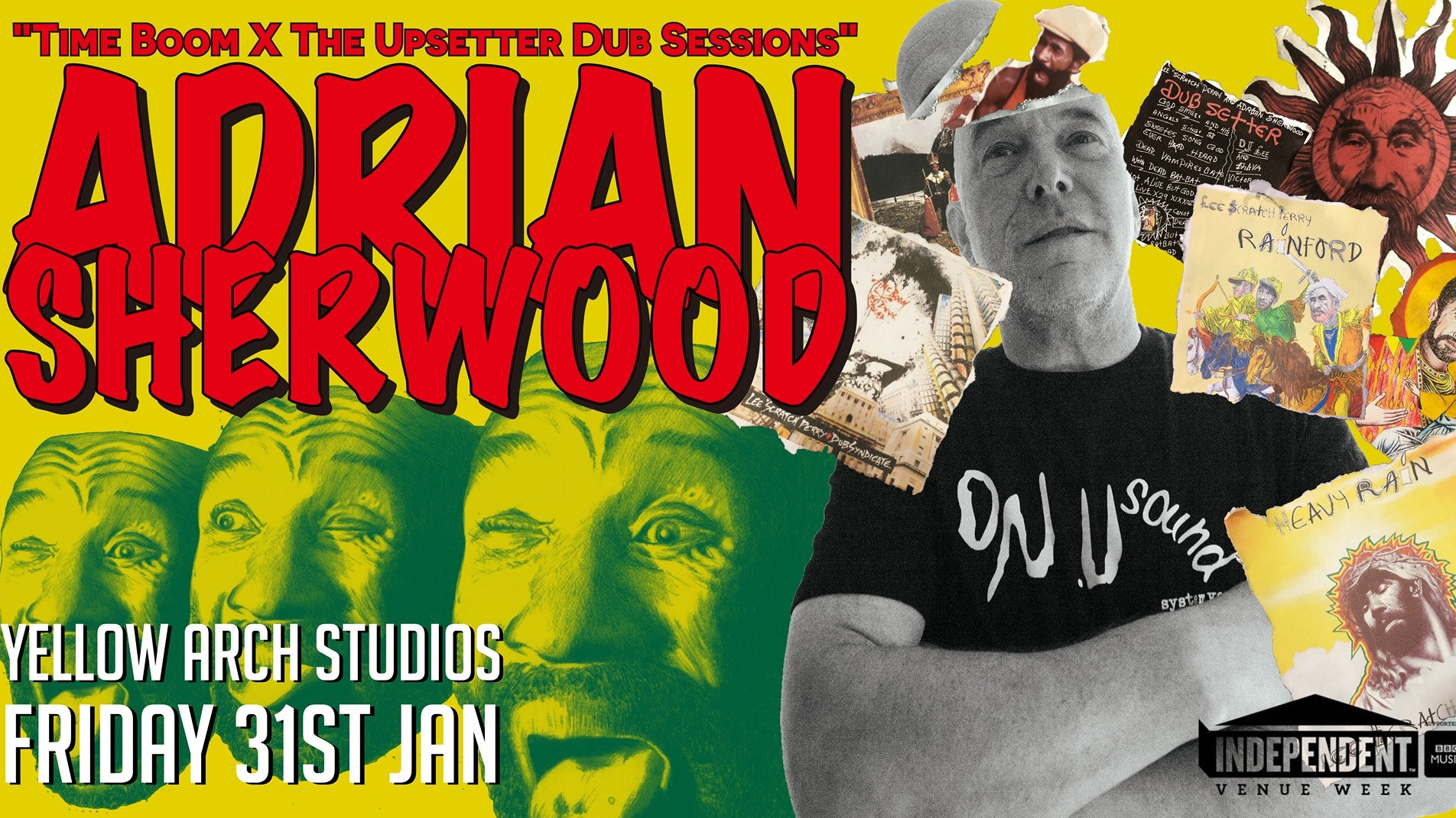 Adrian Sherwood 'Time Boom x The Upsetter Dub Sessions'
