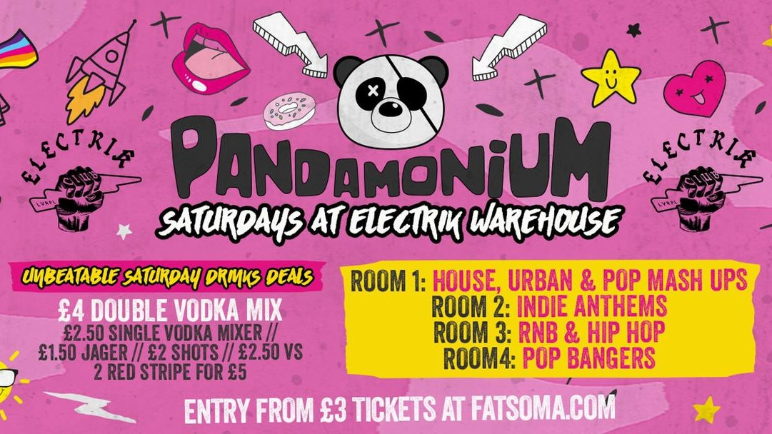 Pandamonium Saturdays
