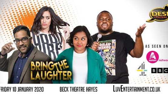 Desi Central : Bring The Laughter – Hayes