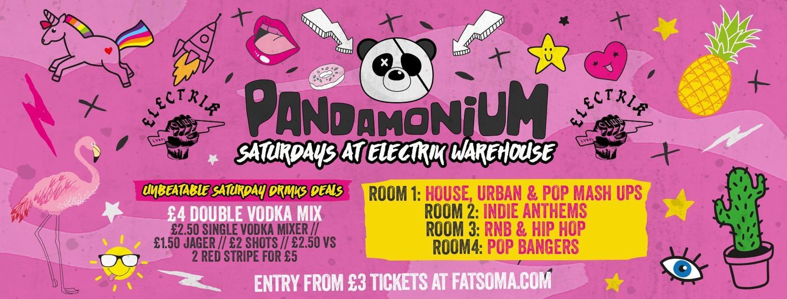Pandamonium Saturdays