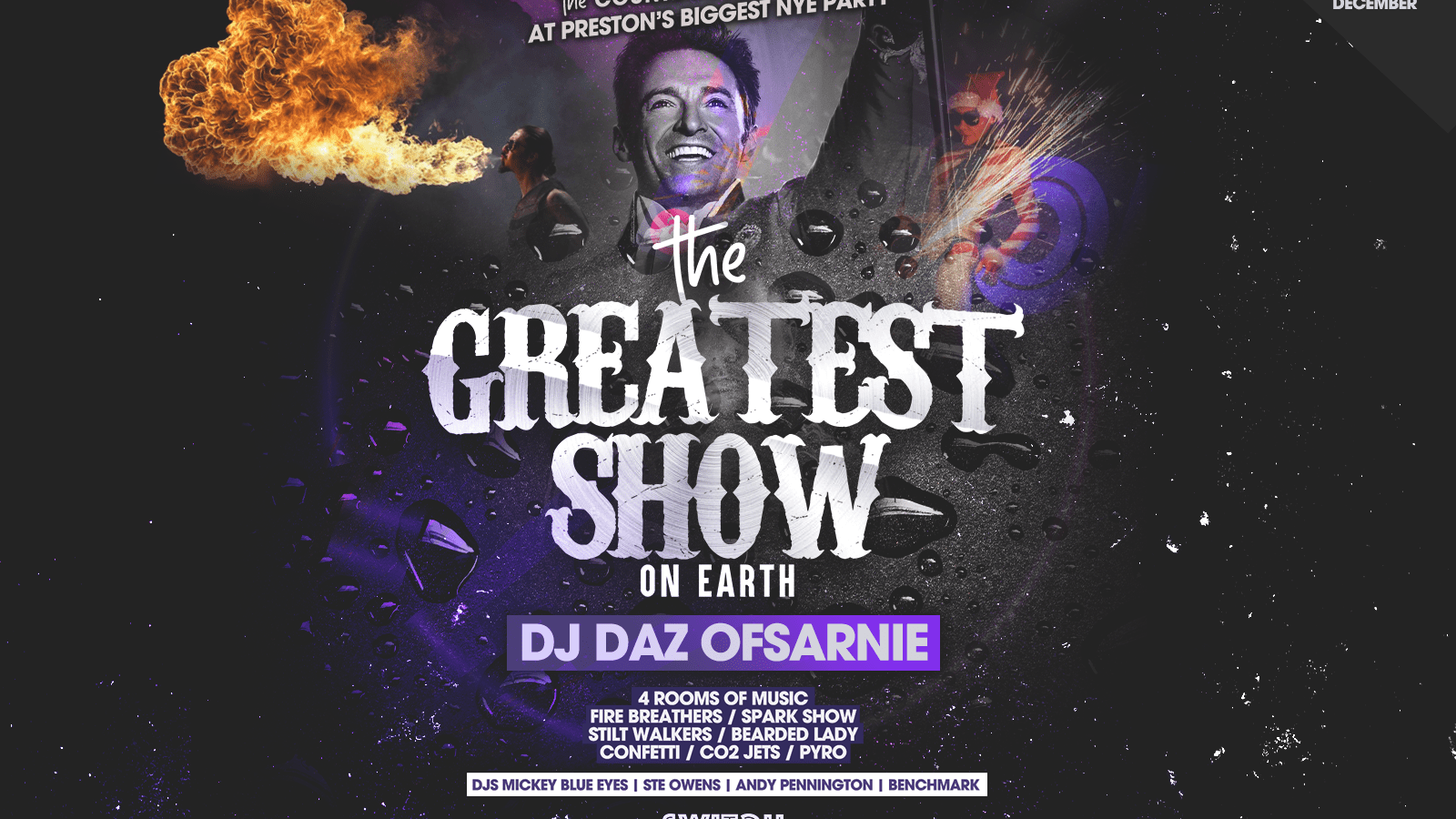 Switch Presents The Greatest Show NYE / Dec 31st