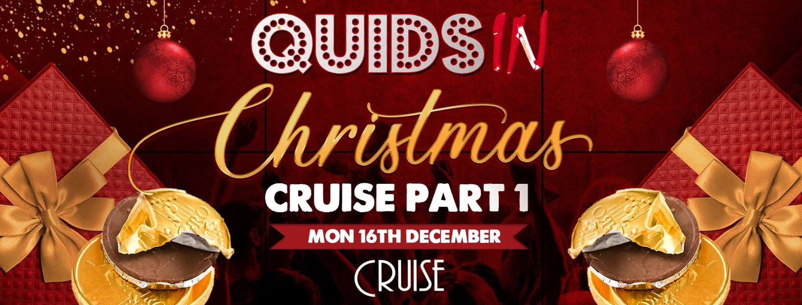 Quids In Chester – CHRISTMAS CRUISE Part 1