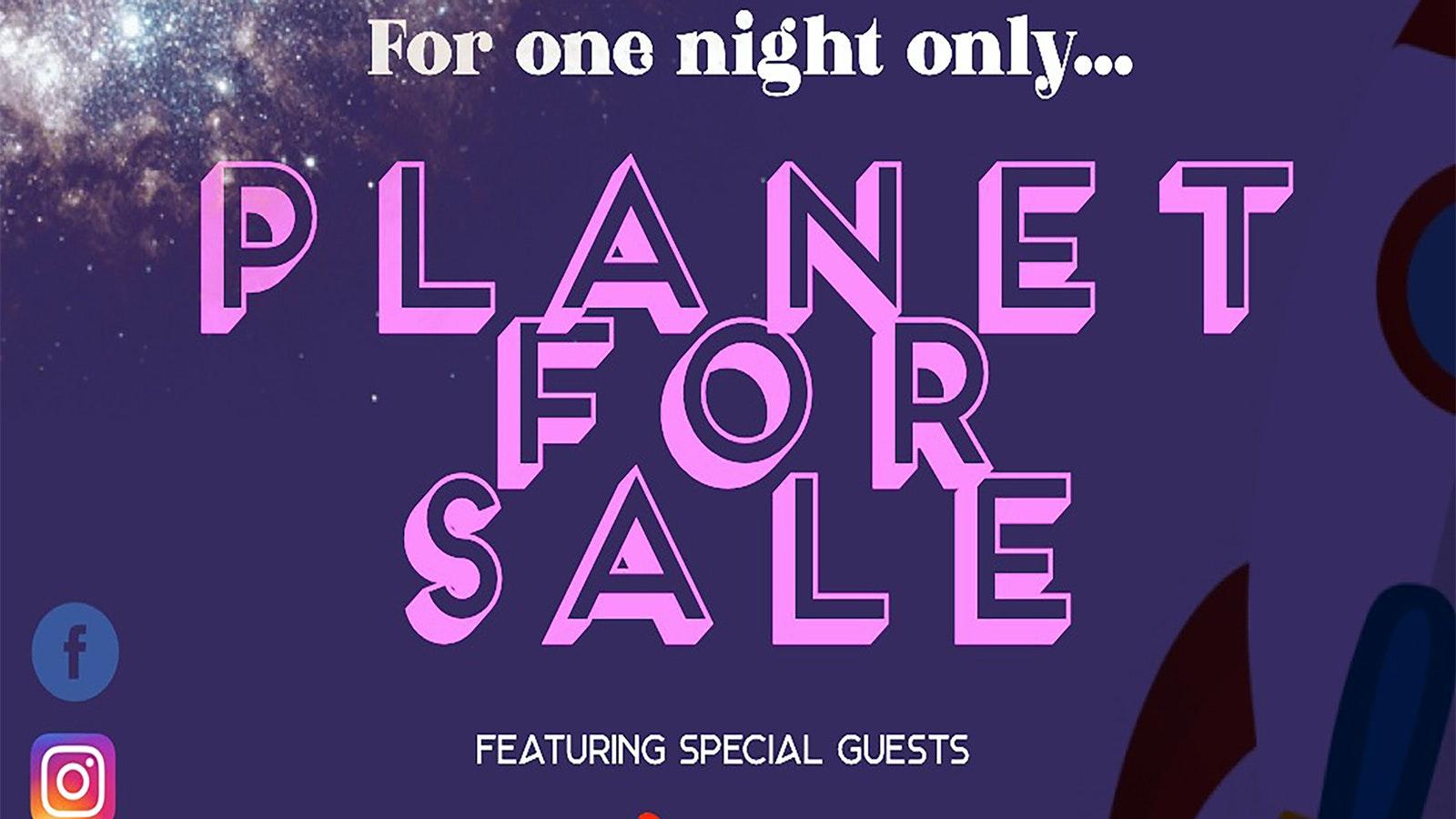 Planet For Sale + Fell + Dan Hodd Ollie Robinson
