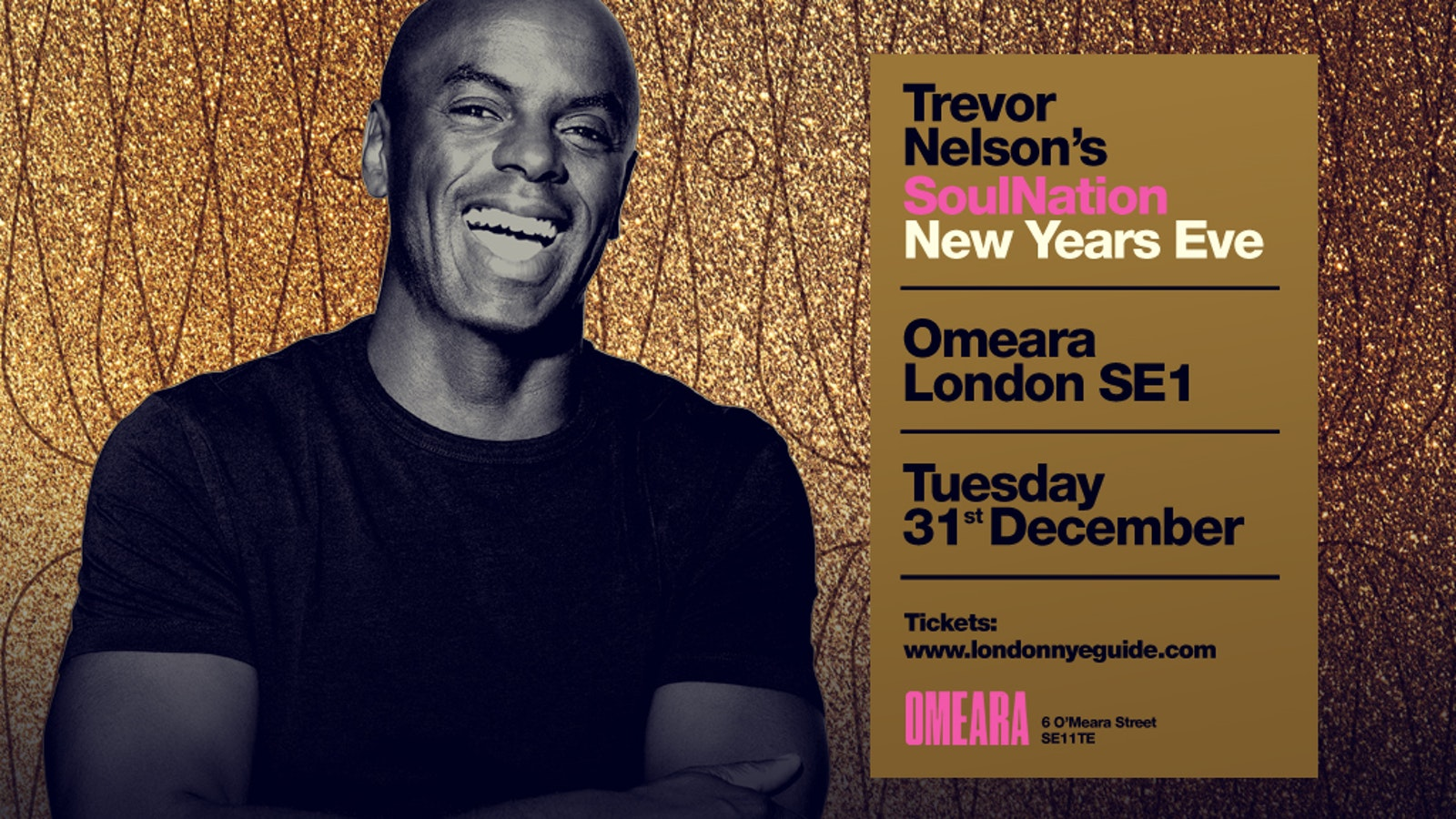 Trevor Nelson's New Years Eve #Classics – OMEARA & Flat Iron Square