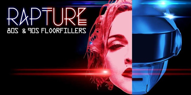 Rapture – 80's & 90's Floor Fillers!
