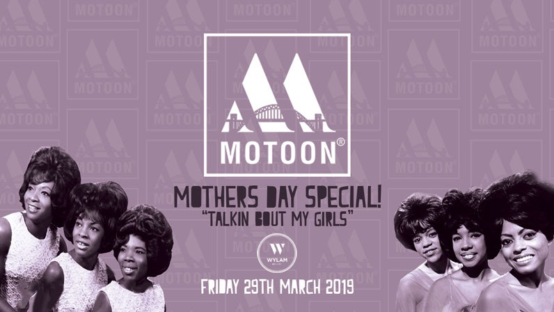"""MOTOON / """"MY GIRLS"""" – MOTHERS DAY SPECIAL / WYLAM BREWERY"""