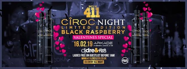 Ciroc Black Raspberry Night! ★ Ladies Guestlist Full! ★ Tickets Now On Sale! ★ VIP Booths SOLD OUT!