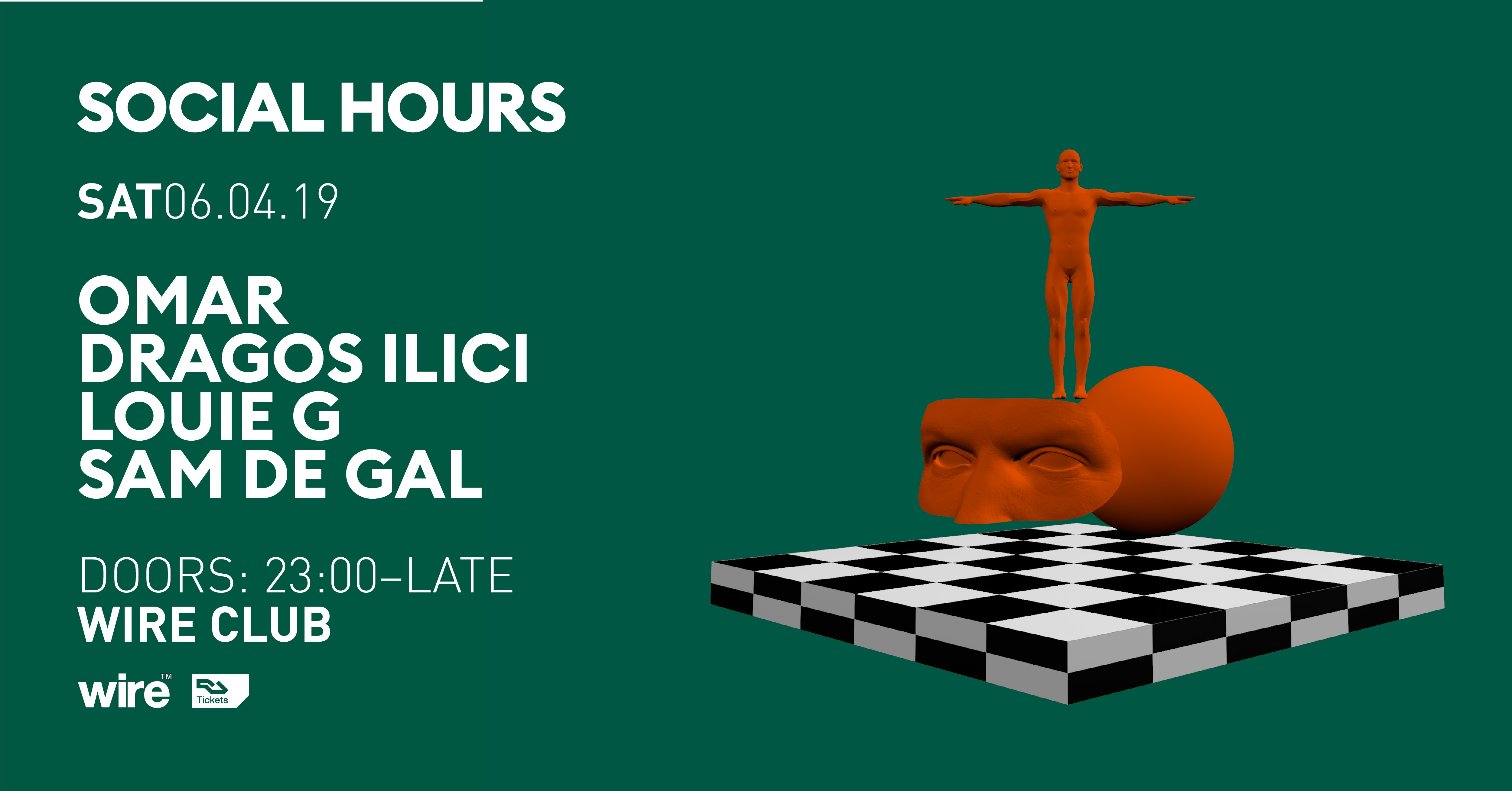 Social Hours with Omar & Dragos Ilici