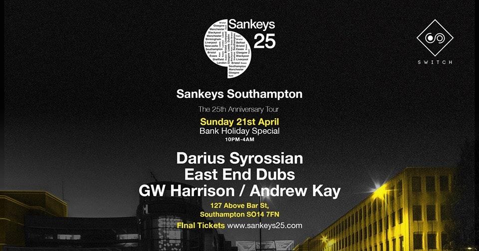 Sankeys25: Southampton – Easter Sunday Special