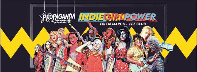 Propaganda Cambridge – Indie Girl Power!