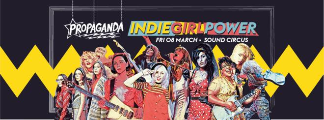 Propaganda Bournemouth – Indie Girl Power!