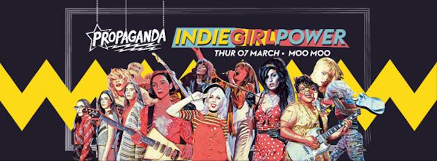 Propaganda Cheltenham – Indie Girl Power!