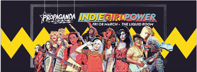 Propaganda Edinburgh – Indie Girl Power!