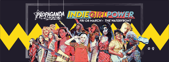 Propaganda Norwich – Indie Girl Power