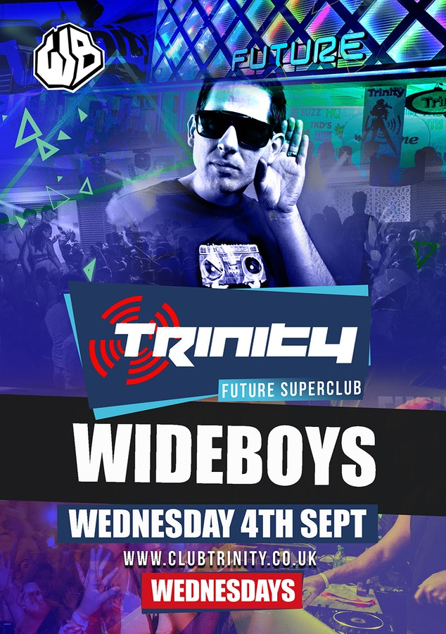 Trinity Kavos w/ The Wideboys
