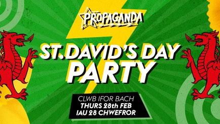 Propaganda Cardiff – St David's Day Party!