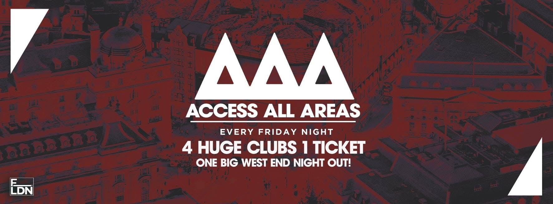 Access All Areas – Club Crawl Tonight! | £5 Tickets £3.50 Drinks