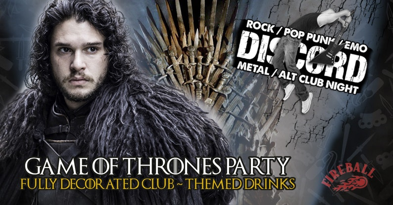 Discord – Game Of Thrones Party!
