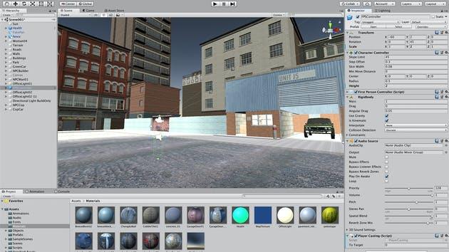 3d rpg game design in unity