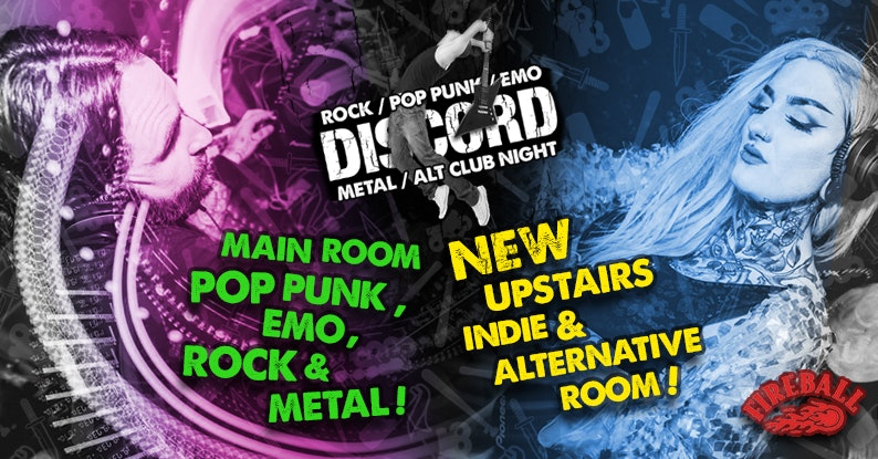 Discord – Pop Punk, Emo & Metal! NEW – Indie & Alternative Room!