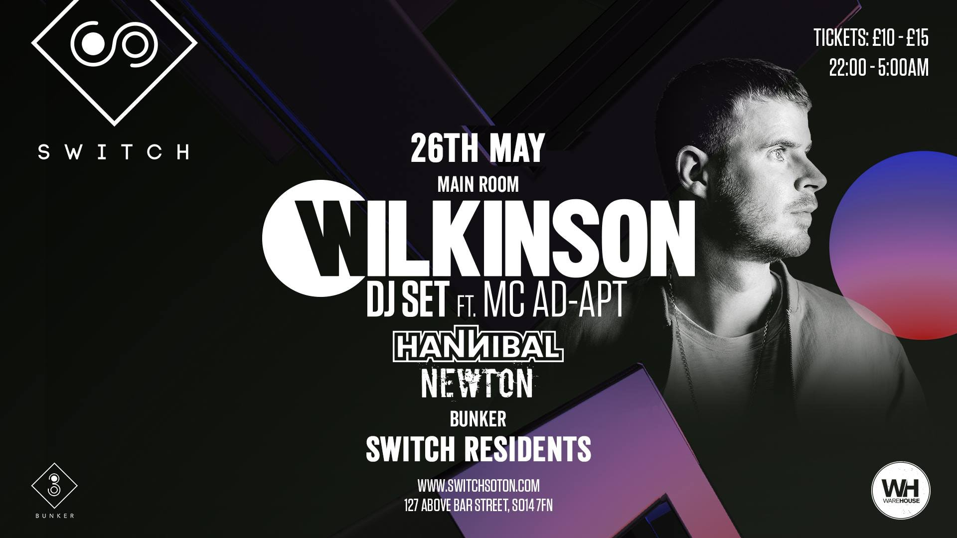 Wilkinson • Sunday 26th May