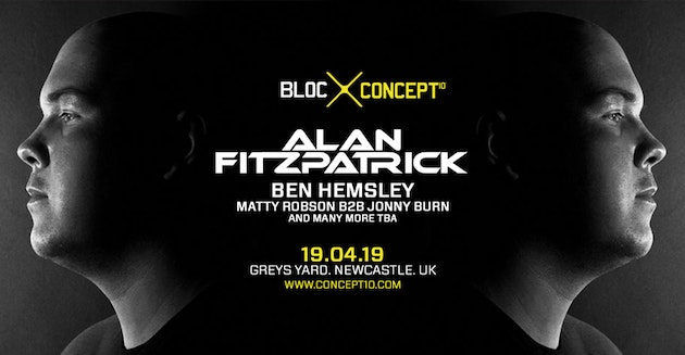BLOC/007 : ALAN FITZPATRICK #GOODFRIDAY – GREYS YARD NEWCASTLE