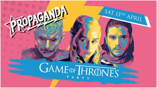 Propaganda Bristol – Game of Thrones Party!