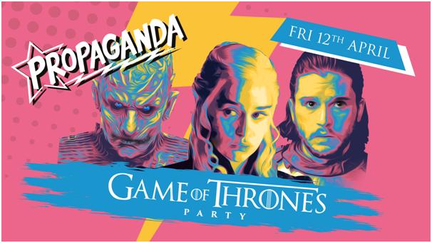 Propaganda Cambridge – Game of Thrones Party!