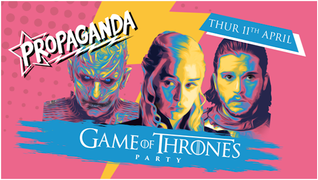 Propaganda Cheltenham – Game of Thrones Party!