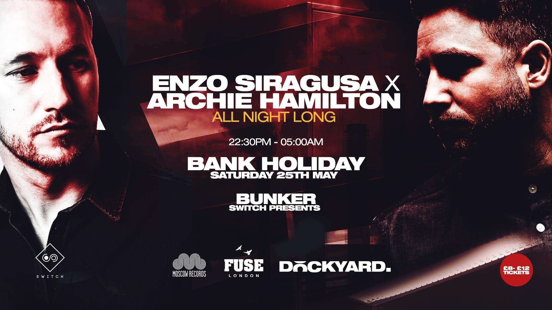 Enzo Siragusa x Archie Hamilton • Saturday 25th May