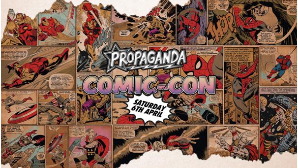 Propaganda Sheffield & Dirty Deeds – Propaganda Comic-Con!