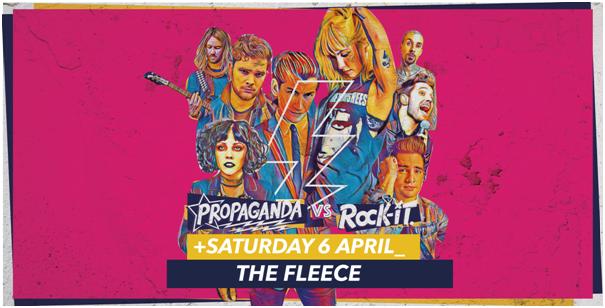 Propaganda Bristol – Propaganda Vs Rock-It!
